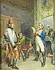 Watercolor, Jean Louis Ernest Meissonier, Jean-Louis-Ernest Meissonier, $500