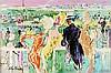Painting, LeRoy Neiman, Leroy Neimann, $7,500