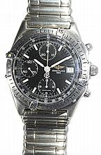 Breitling Windrider Chronomat stainless steel wristwatch, model A13048