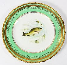 (Lot of 10) Royal Crown Derby cabinet plates