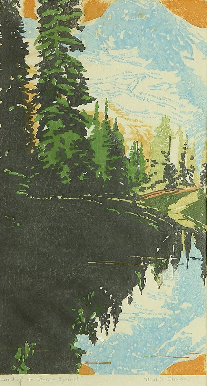 Print, Waldo S. Chase