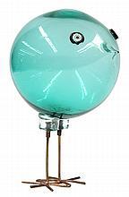 Murano glass 'Pulcini' bird by Alessandro Pianon for Vistosi