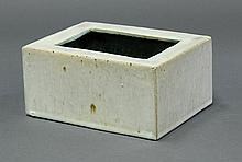Chinese Rectangular Ceramic Brush Washer