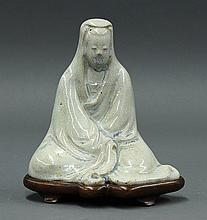 Chinese Crackle Glaze Figure