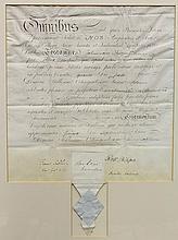 Early Irish medical degree of Johannenn Thomas Banks