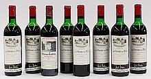 (lot of 8) French Bordeaux wine group, consisting of (7) Chateau Ormes de Pez, St