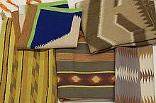 (lot of 5) Native American Navajo rugs