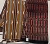(lot of 2) Native American carpets