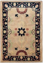 PAKISTAN PESHAWAR ORIENTAL RUG, 2-0 X 2-11, 100% WOOL, HAND WOVEN & HAND KNOTTED