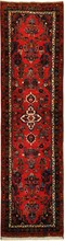 IRAN MEHRABAN ORIENTAL RUG, 2-7 X 10-5, 100% WOOL, HAND WOVEN & HAND KNOTTED
