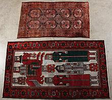 2 MISCELLANEOUS ORIENTAL RUGS