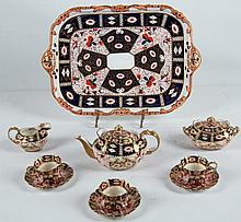 12 PIECE DERBY TEA SERVICE