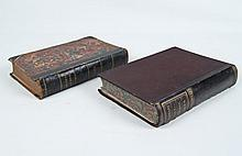 2 MISCELLANEOUS LEATHER BOUND BOOKS
