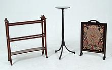 3 PIECE MISCELLANEOUS LOT OF FURNITURE