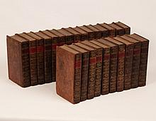 SET OF 25 FULL LEATHERBOUND BOOKS