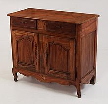 FRENCH CARVED WALNUT PROVINCIAL BUFFET