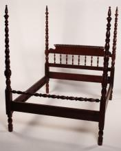 AMERICAN WALNUT JINNY LIND BED