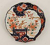 IMARI PORCELAIN MEIJI PERIOD SHELL SHAPED PLATE