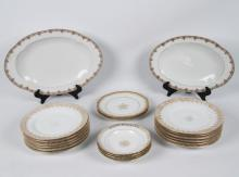 20 PIECE MISCELLANEOUS LOT OF FRENCH LIMOGES PORCELAIN