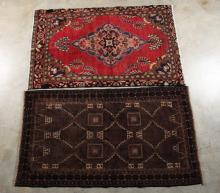 2 MISCELLANEOUS PERSIAN RUGS