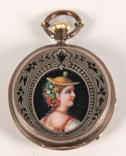 ANTIQUE LADIES POCKET WATCH BY JULES MATHEY