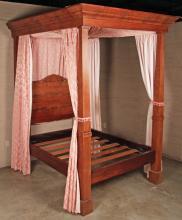 AMERICAN MAHOGANY 4 TESTER BED