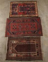 GROUP OF 3 MISCELLANEOUS PERSIAN RUGS