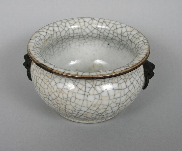 Chinese Crackle Glaze Bowl