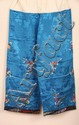 Antique Two Piece Chinese Embroidered Silk Costume