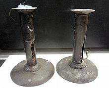 17. Pair of 2 Push-Up Candlesticks