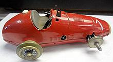 18. U.S. Zone German Metal Racer Car Toy