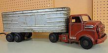 30. Large Metal Cargo Toy Truck