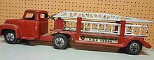 31. Buddy L Metal Extension Ladder Fire Truck