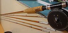 33. I-H Cane Fly Rod/Reel Fishing Pole