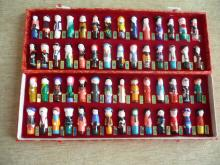 56 NATIONALITIES OF THE CHINESE PEOPLE FIGURINE DISPLAY SET