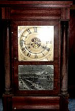 Seth Thomas 1850 Mantle Clock Havana Tablet