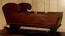 Early Tenn. Walnut Dovetailed Cradle