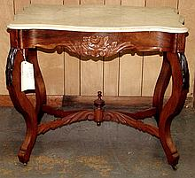 Turtle Marble Top Center Table