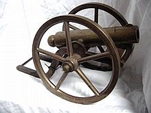 1900 Brass Cannon