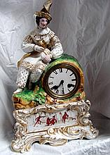 19th Cent. French Mantle Clock