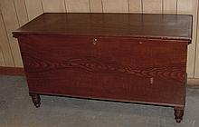 19th Cent. Grain Painted Blanket Chest