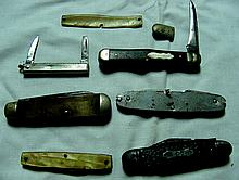 5 Vintage Pocket Knives