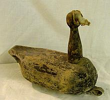 Hand Carved Decoy