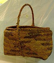 Choctaw River cane Basket w/Handle