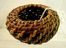 Miniature Round Split Basket