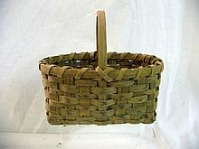Handmade Miniature Split Basket