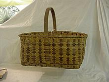 Cherokee Split Woven Basket w/Handle