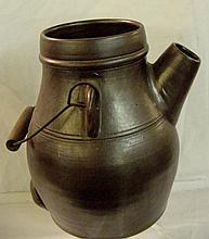 Chocolate Brown Batter Jug