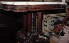 Fancy Victorian Marble Top Table