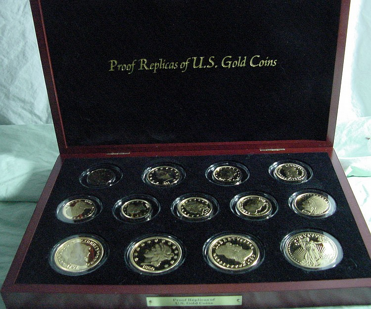 Proof Replicas of US Gold Coins